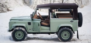 vintage land rover repair